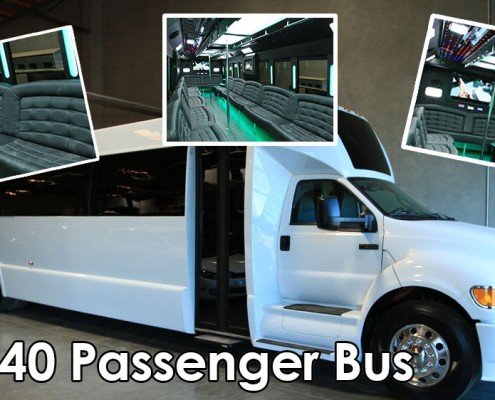 Wedding Party Bus Rental {city}